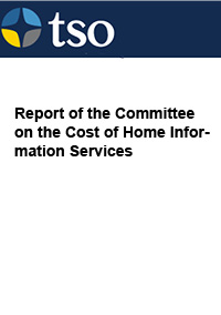 Report of the Committee on the Cost of Home Information Services